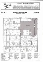 Denver Township, Hastings, Directory Map, Adams County 2007